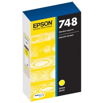 T748420 Ink Cartridge - Epson Genuine OEM (Yellow)
