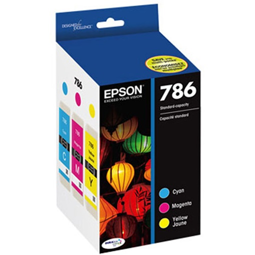 T786520 Ink Cartridge - Epson Genuine OEM (Bundle Pack)