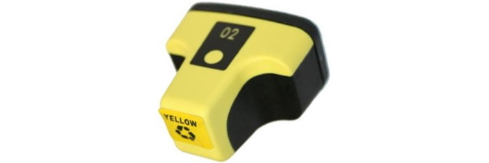 HP 02 Yellow Remanufactured
