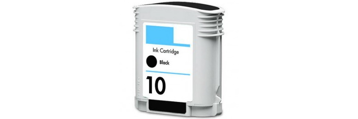 HP 10 Black Remanufactured