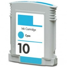 Compatible HP 10 Cyan Ink Cartridge