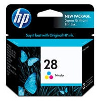 Genuine HP 28 Tricolor Ink Cartridge