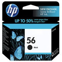 Genuine HP 56 Black Ink Cartridge