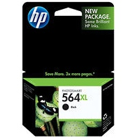 HP 564XL Black Ink Cartridge - HP Genuine OEM (Black)