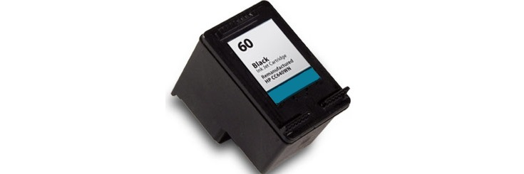 HP 60 Black Remanufactured