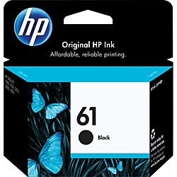 Genuine HP 61 Black Ink Cartridge