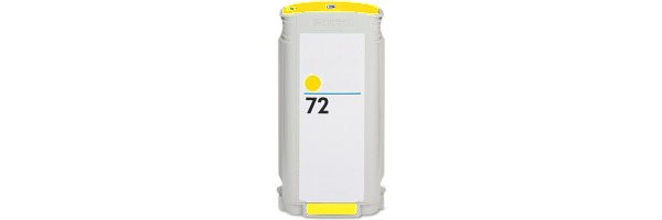 HP 72 Yellow Remanufactured