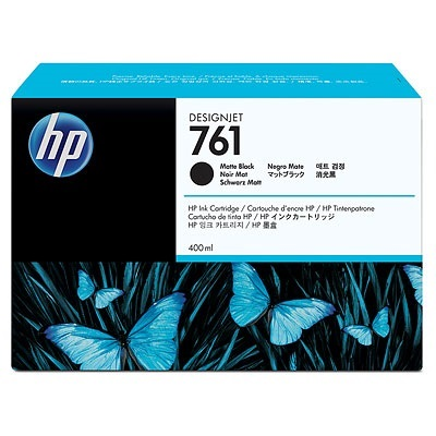 Genuine HP 761XL Matte Black Ink Cartridge