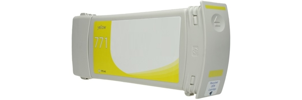 HP 771 Yellow Remanufactured