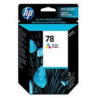 Genuine HP 78 Tricolor Ink Cartridge
