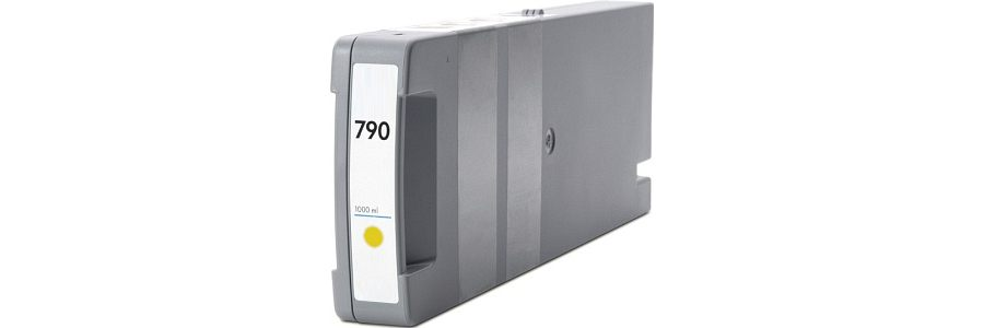 HP 790 Yellow Remanufactured