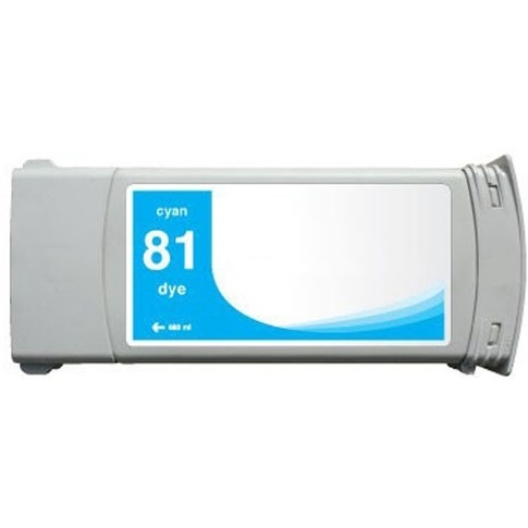 Compatible HP 81 Cyan Ink Cartridge