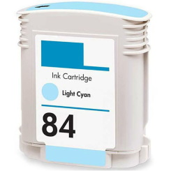 Compatible HP 84 Light Cyan Ink Cartridge