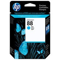 Genuine HP 88 Cyan Ink Cartridge