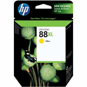 HP 88XL Yellow Ink Cartridge - HP Genuine OEM (Yellow)