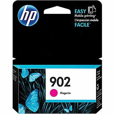 HP 902 Magenta Ink Cartridge - HP Genuine OEM (Magenta)