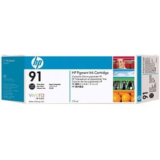 HP 91 Photo Black Ink Cartridge - HP Genuine OEM (Photo Black)