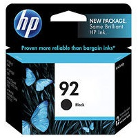 Genuine HP 92 Black Ink Cartridge