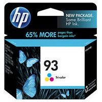 Genuine HP 93 Tricolor Ink Cartridge