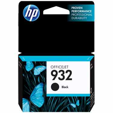 Genuine HP 932 Black Ink Cartridge