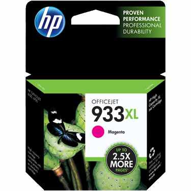 Genuine HP 933XL Magenta Ink Cartridge