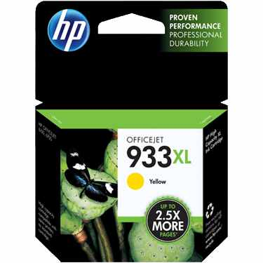 Genuine HP 933XL Yellow Ink Cartridge