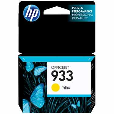 Genuine HP 933 Yellow Ink Cartridge