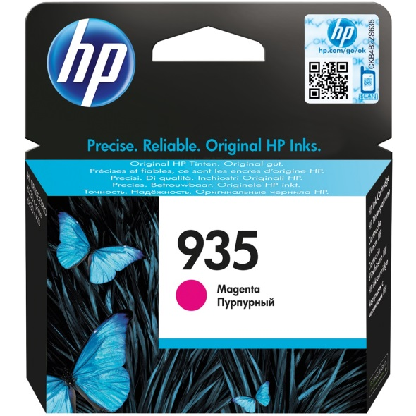 Genuine HP 935 Magenta Ink Cartridge