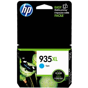 HP 935XL Cyan Ink Cartridge - HP Genuine OEM (Cyan)