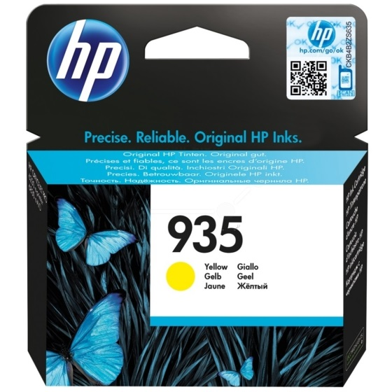 Genuine HP 935 Yellow Ink Cartridge