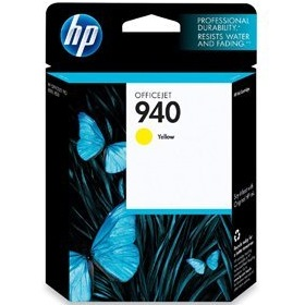 HP 940 Yellow Ink Cartridge - HP Genuine OEM (Yellow)