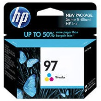 Genuine HP 97 Tricolor Ink Cartridge