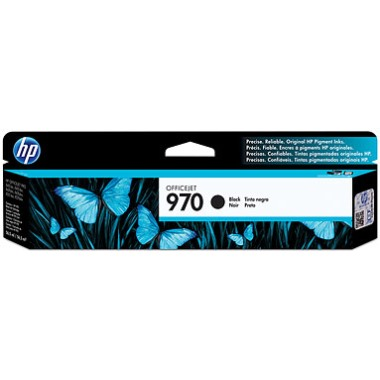 Genuine HP 970 Black Ink Cartridge