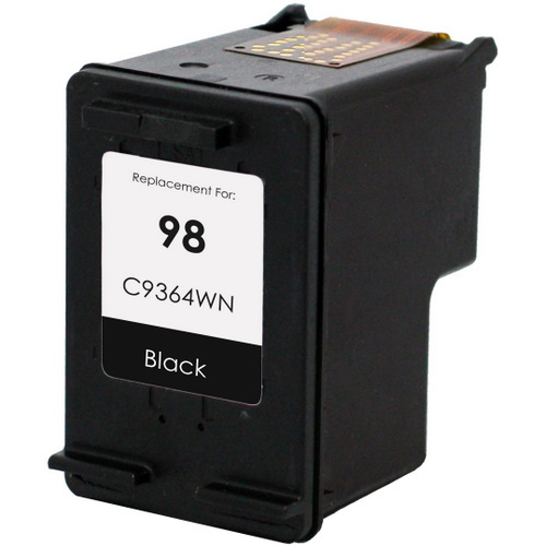 HP 98 Ink Cartridge - HP Remanufactured (Black)