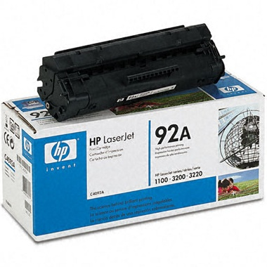 Genuine HP C4092A Black Toner Cartridge
