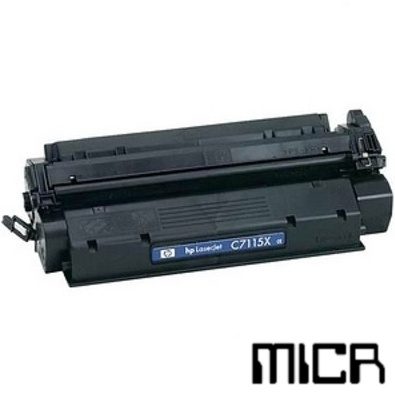 Compatible HP C7115X-micr Black MICR Toner Cartridge
