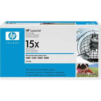 Genuine HP C7115X Black Toner Cartridge