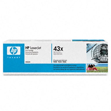 Genuine HP C8543X Black Toner Cartridge