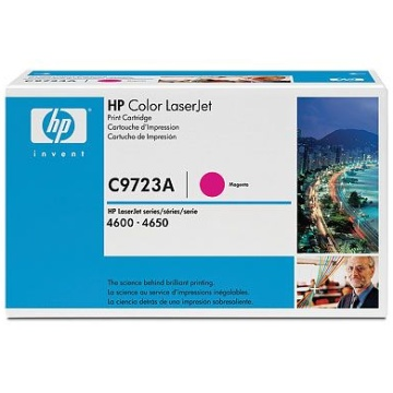 Genuine HP C9723A Magenta Toner Cartridge