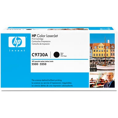 C9730A Toner Cartridge - HP Genuine OEM (Black)