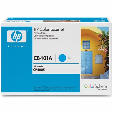 Genuine HP CB401A Cyan Toner Cartridge