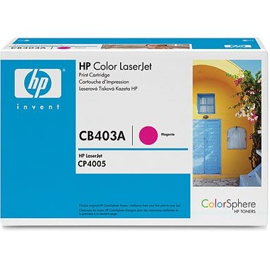 Genuine HP CB403A Magenta Toner Cartridge