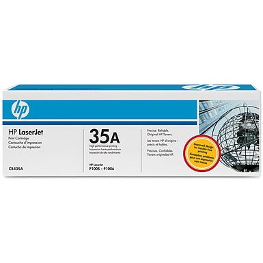 CB435A Toner Cartridge - HP Genuine OEM (Black)