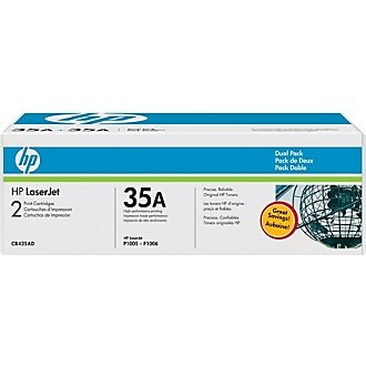 Genuine HP CB435D Black Toner Cartridges