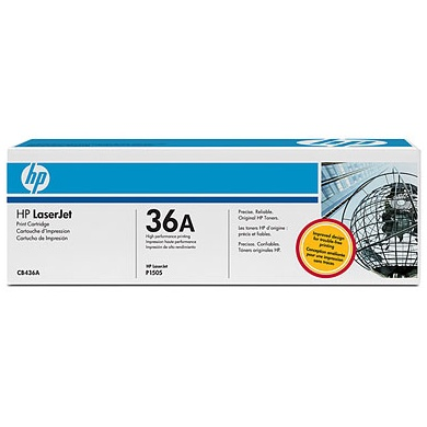 CB436A Toner Cartridge - HP Genuine OEM (Black)
