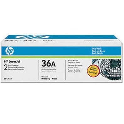 CB436D Toner Cartridge - HP Genuine OEM (Multipack)