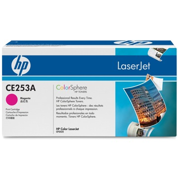 CE253A Toner Cartridge - HP Genuine OEM (Magenta)