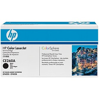 CE260A Toner Cartridge - HP Genuine OEM (Black)