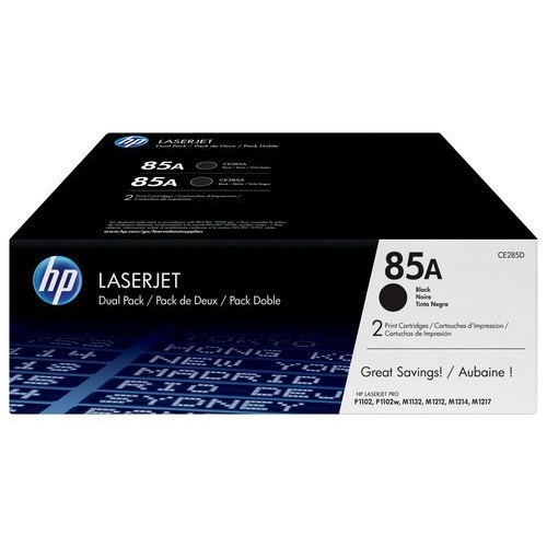 CE285D Toner Cartridge - HP Genuine OEM (Multipack)
