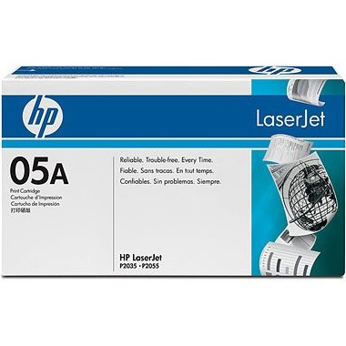 Genuine HP CE505A Black Toner Cartridge